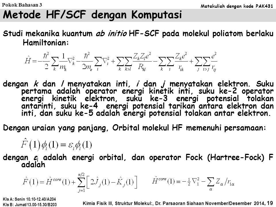 Orbital π keadaan bonding Orbital π keadaan antibonding 6 C: 2p Energi eksitasi π → π* (=-2β) energi 66  C2p HOMO LUMO  Energi ikatan elektron-π