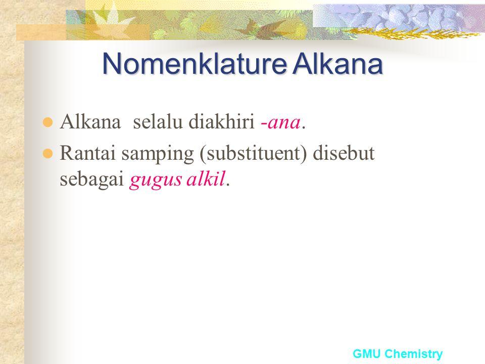GMU ChemistryAlkana
