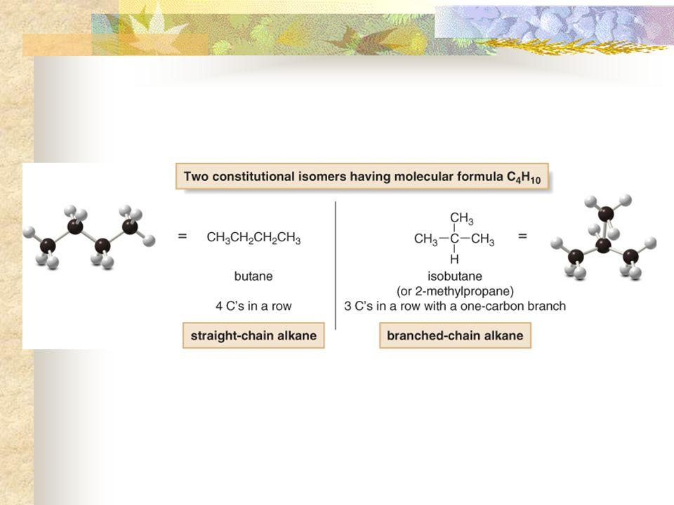 GMU Chemistry Alkana Hidrokarbon Alkana – C n H 2n+2