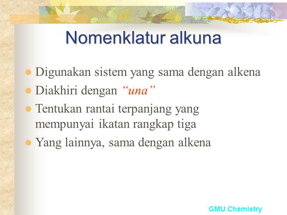 GMU Chemistry Substituen Alkenil