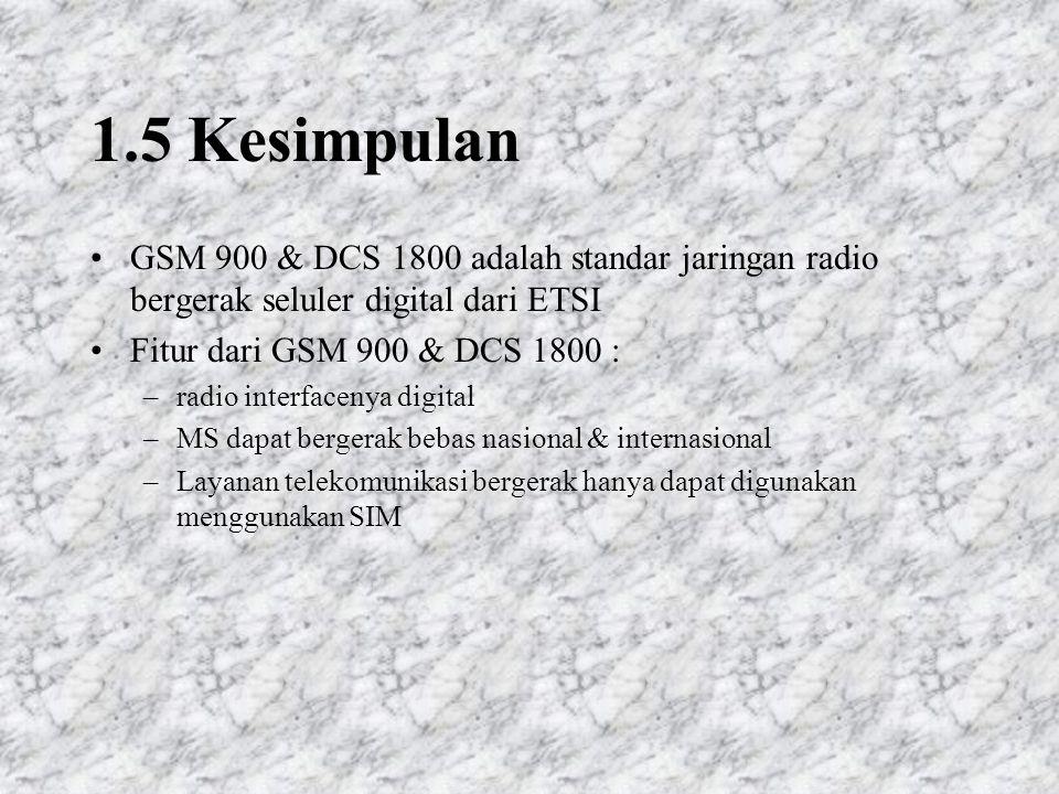 Setelah SIM dimasukkan dan diaktifkan MS mengenali aktivitas sinyal dari jaringan bergerak (Location Registration/Location Update) Jaringan bergerak mengetahui lokasi terakhir MS Data lokasi terakhir MS disimpan di SIM