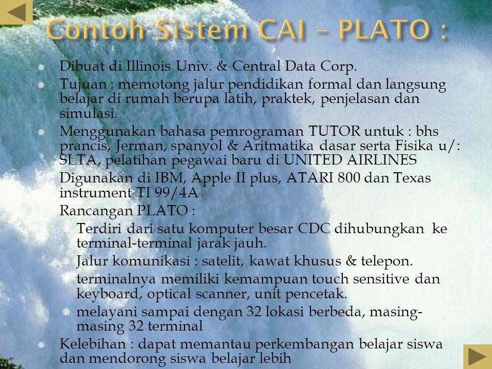  Dikembangkan di perusahaan MITRE  Ciri Khas  Dirancang agar semua aplikasi perangkat lunak dapat diterapkan terpadu.