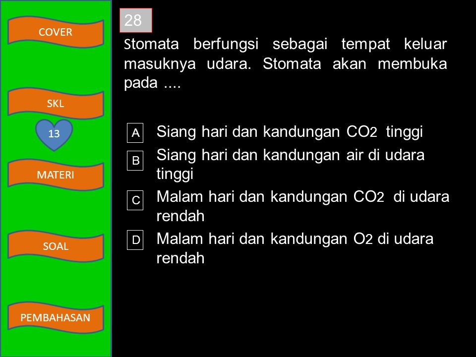 COVER MATERI SKL SOAL PEMBAHASAN 27 Perhatikan beberapa penyakit berikut! 1) Renitis 3) Pleuritis 2) Pneumonia 4) Sinusitis Penyakit yang terjadi di p