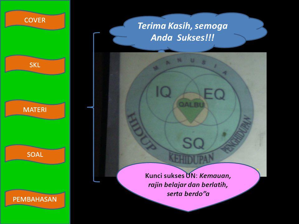 COVER MATERI SKL SOAL PEMBAHASAN Diketahui data-data dalam tabel sebagai berikut: No.NamaRumus KimiaKategori 1.Karbon dioksidaCO 2 senyawa 2.Asam sulf
