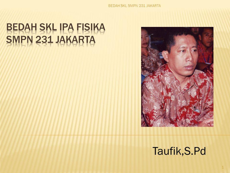 Taufik,S.Pd BEDAH SKL SMPN 231 JAKARTA 1