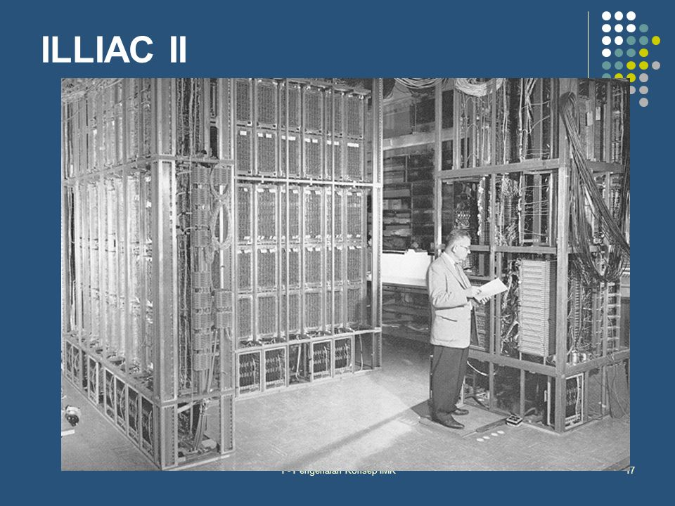 1 - Pengenalan Konsep IMK17 ILLIAC II