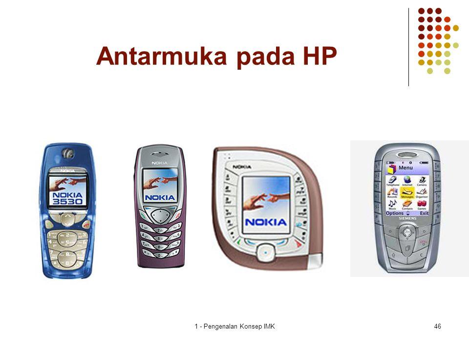 1 - Pengenalan Konsep IMK46 Antarmuka pada HP