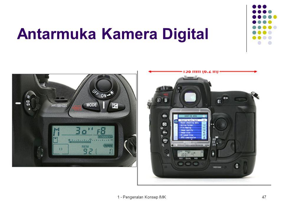 1 - Pengenalan Konsep IMK47 Antarmuka Kamera Digital