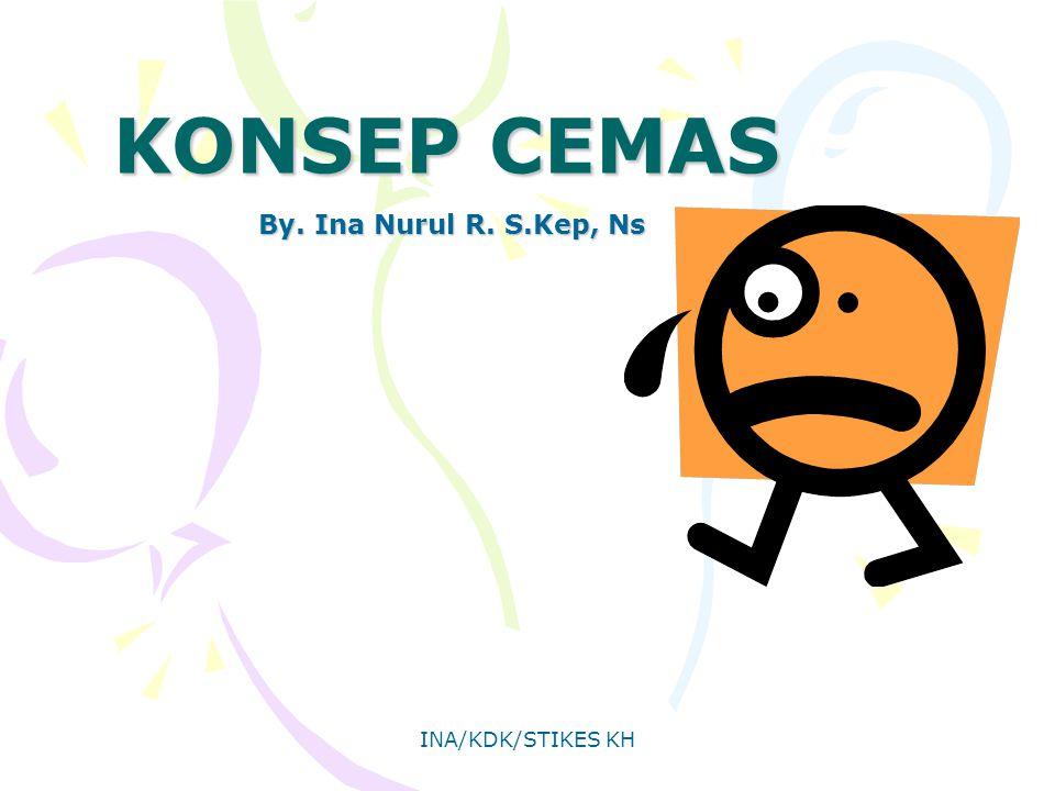 INA/KDK/STIKES KH KONSEP CEMAS By. Ina Nurul R. S.Kep, Ns