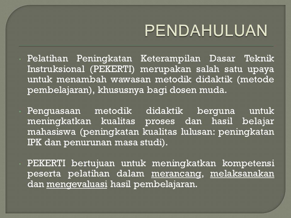 PENILAIAN HASIL BELAJAR * OLEH: RISWAN JAENUDIN ** * Disampaikan pada kegiatan Pelatihan PEKERTI pada Tanggal 25 April 2013 di Universitas Sriwijaya *