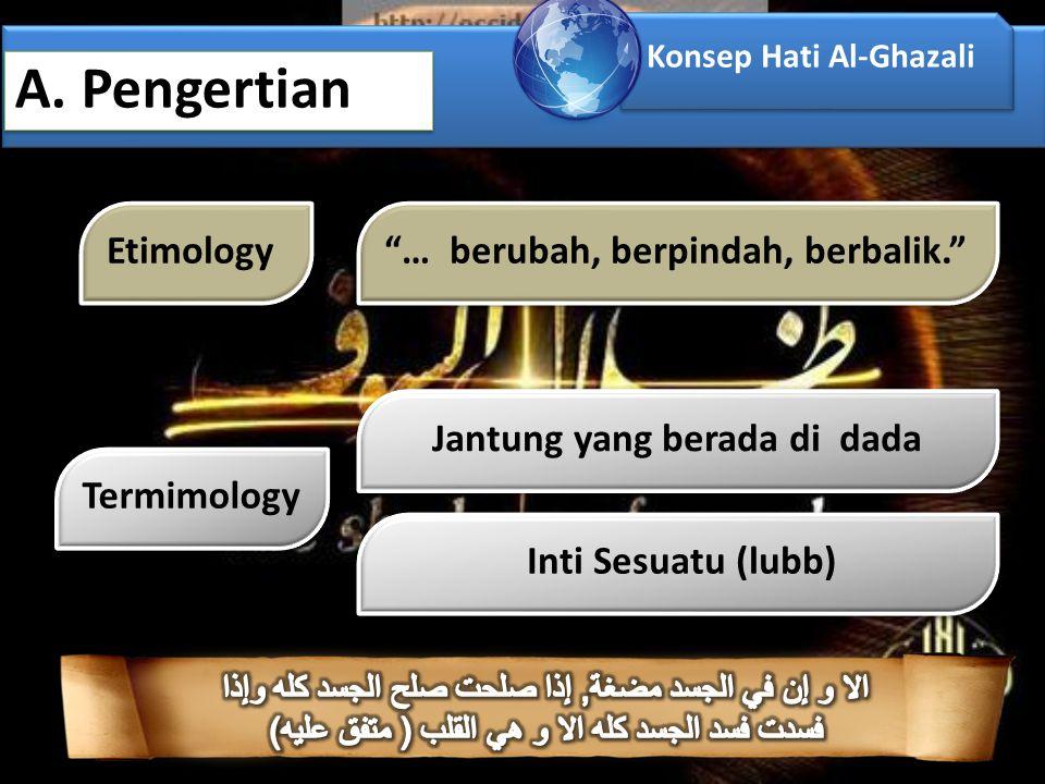 Konsep Hati Al-Ghazali A.