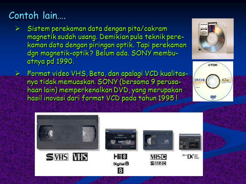Contoh Inovasi 1G (1980-an) Jaringan dan suara analog, tanpa layanan data. Berbasis AMPS (Advanced Mobile Phone Service). 1G (1980-an) Jaringan dan su