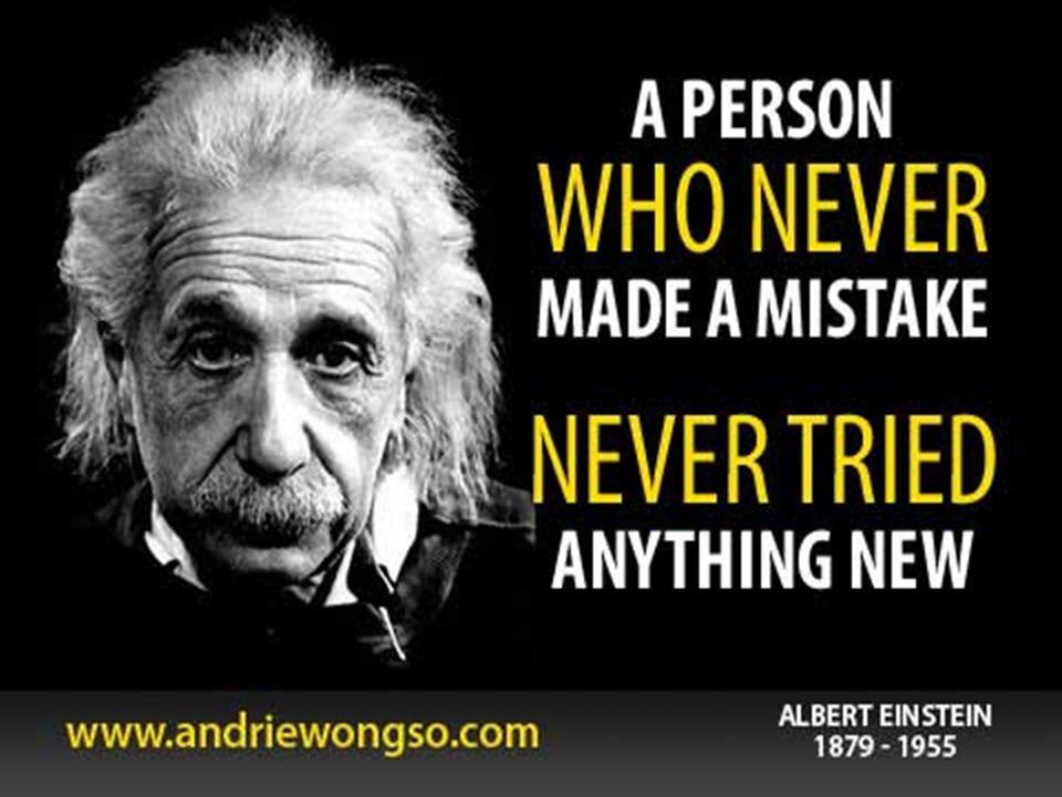  Ketakutan akan gagal adalah penghambat utama dalam kreatifitas dan problem solving. Obatnya hanya satu : ubah sikap dan pendapat tentang kegagalan.