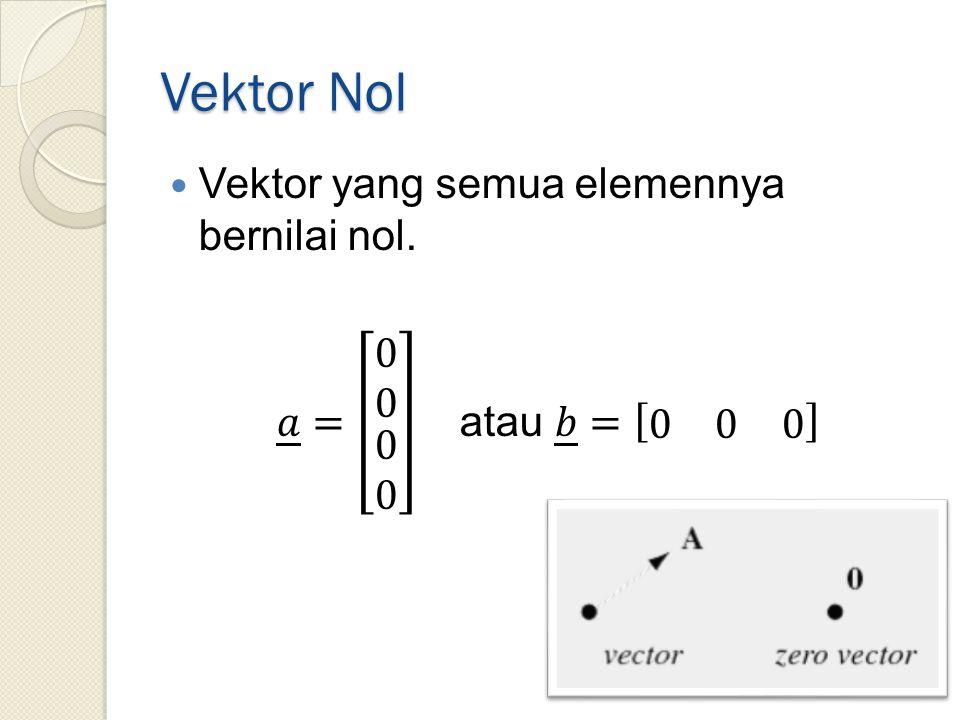 Vektor Nol