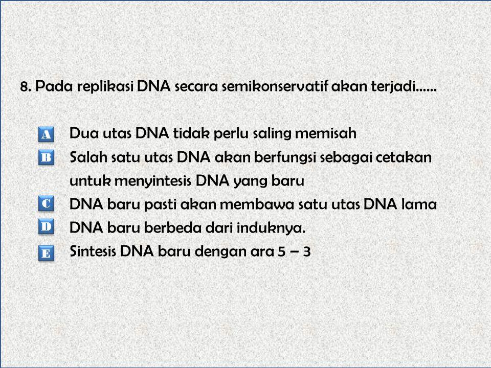 7. Berikut ini susunan kromosom yang tidak dimiliki oleh sel-sel tubuh adalah…… Sel tubuh laki-laki : 22AAXY Sel tubuh perempuan : 22AAXX Sel telur :