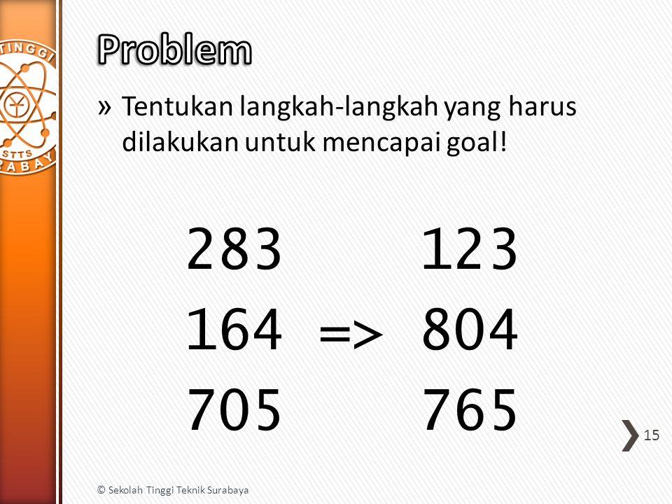» Tentukan langkah-langkah yang harus dilakukan untuk mencapai goal.