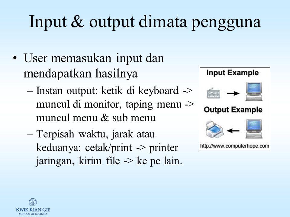 PTI I (MKK103X) Minggu 5 Page 1 MINGGU 5 Pengantar TI (MKK103X) Pokok Bahasan: – Input & output Tujuan Instruksional Khusus: – Siswa dapat menjelaskan