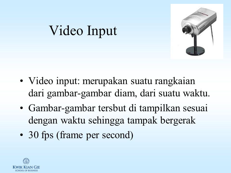 Kamera Digital Kamera digital: mengubah informasi yang diterima oleh pemindai digital kedalam bentuk sinyal digital untuk disimpan dalam suatu media S