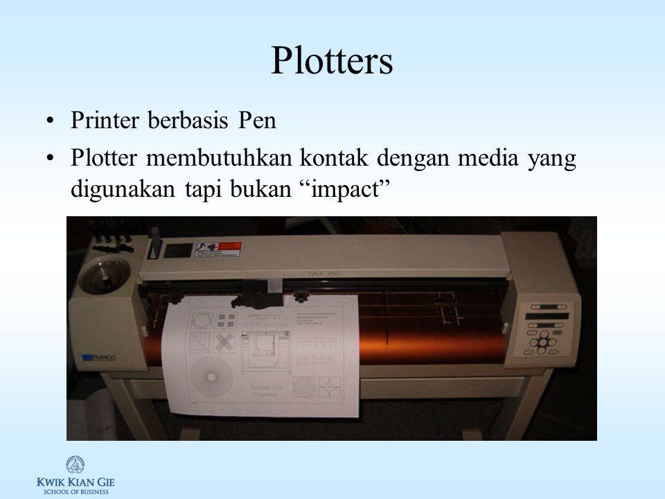 Modern Printer Toner Base: printer laser, mesin fotocopy Liquid inkjet: Epson, HP, Canon Solid ink (thermal transfer printer): Tektronix Dye-sublimati