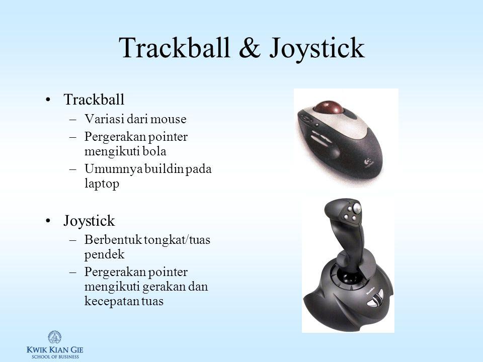 Mouse Alat penunjuk yang umum. Sensor posisi 1.Mekanis 2.Optik 3.Cordless/wireless