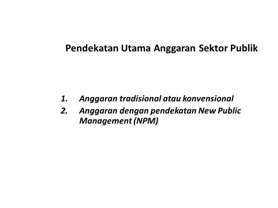 Teknik Penganggaran Sektor Publik Berdasarakan NPM 1.Sistem Anggaran Kinerja (Performance Budgeting System) 2.Zero Based Budgeting System 3.Planning, Programming, and Budgeting System (PPBS)