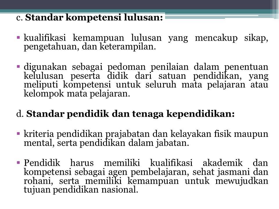 Namun bila dicermati lebih jauh pada Ayat 2, dijelaskan lebih lanjut bahwa untuk menilai pencapaian standar nasional diperlukan evaluasi yang dilakukan oleh lembaga mandiri.