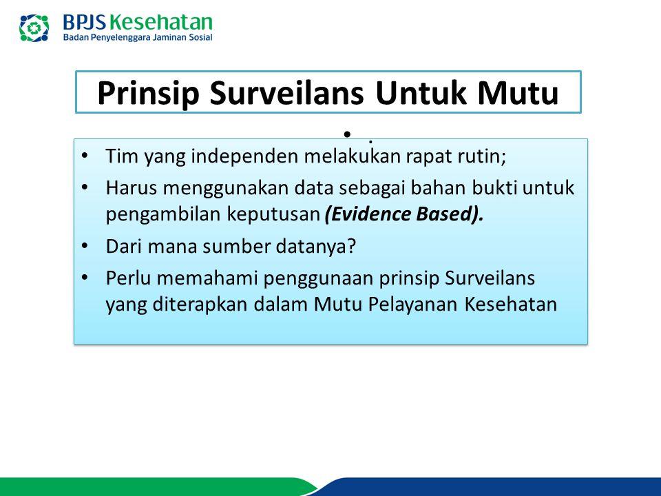 Apa saja yang di Surveillance