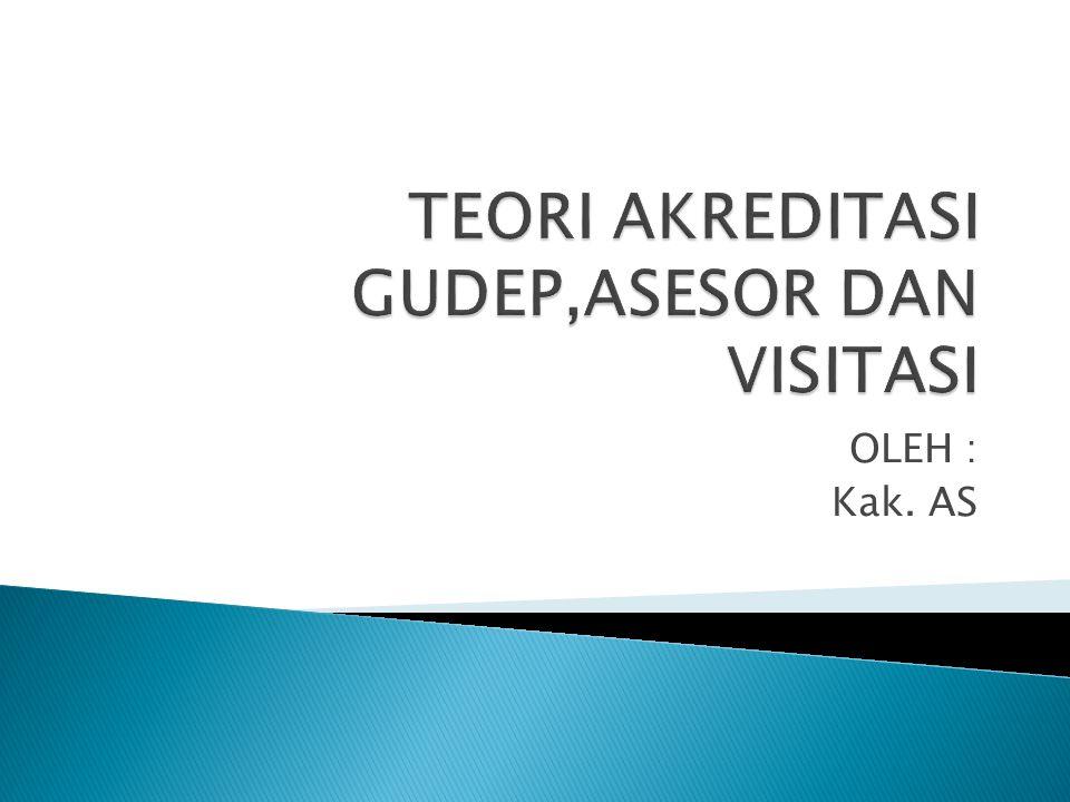  Asesor Kwartir cabang menyerahkan berkas dokumen instrument akreditasi ( hard copy ) dan dokumen instrument akreditasi versi digital ( soft copy ) lengkap dengan portofolionya kepada Asesor Kwartir Daerah.