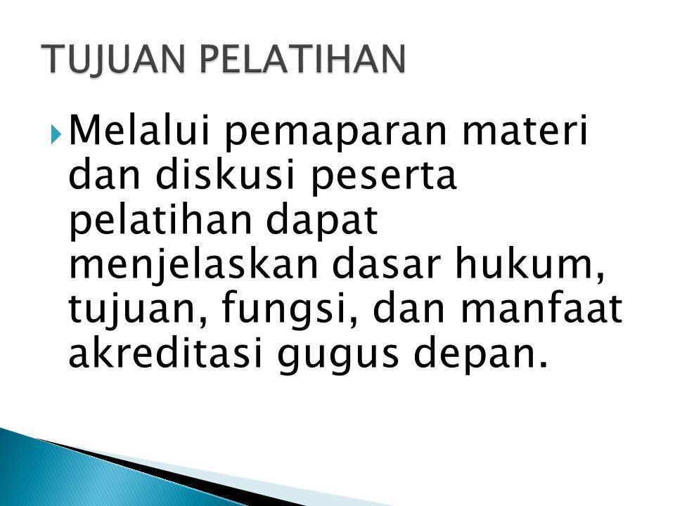 Keputusan Kwartir Nasional Gerakan Pramuka Nomor : 203 Tahun 2011 Tentang Pedoman Akreditasi Gugus Depan Pramuka