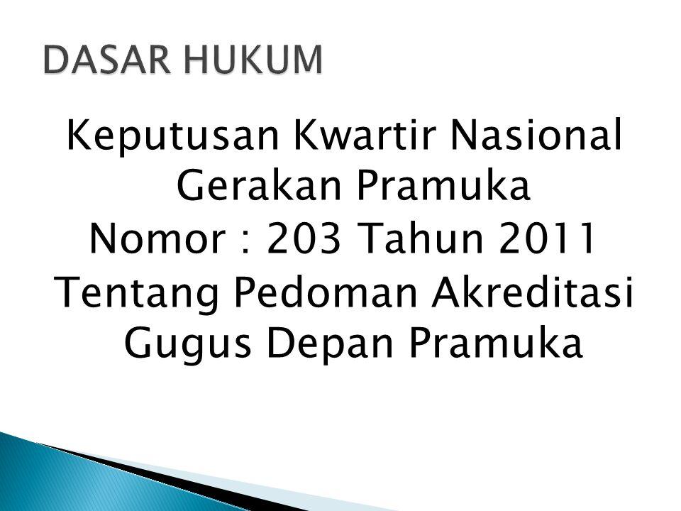  Visitasi dilakukan selambat-lambatnya 1 ( satu ) bulan setelah Kwartir Cabang menerima berkas portofolio gugus depan.
