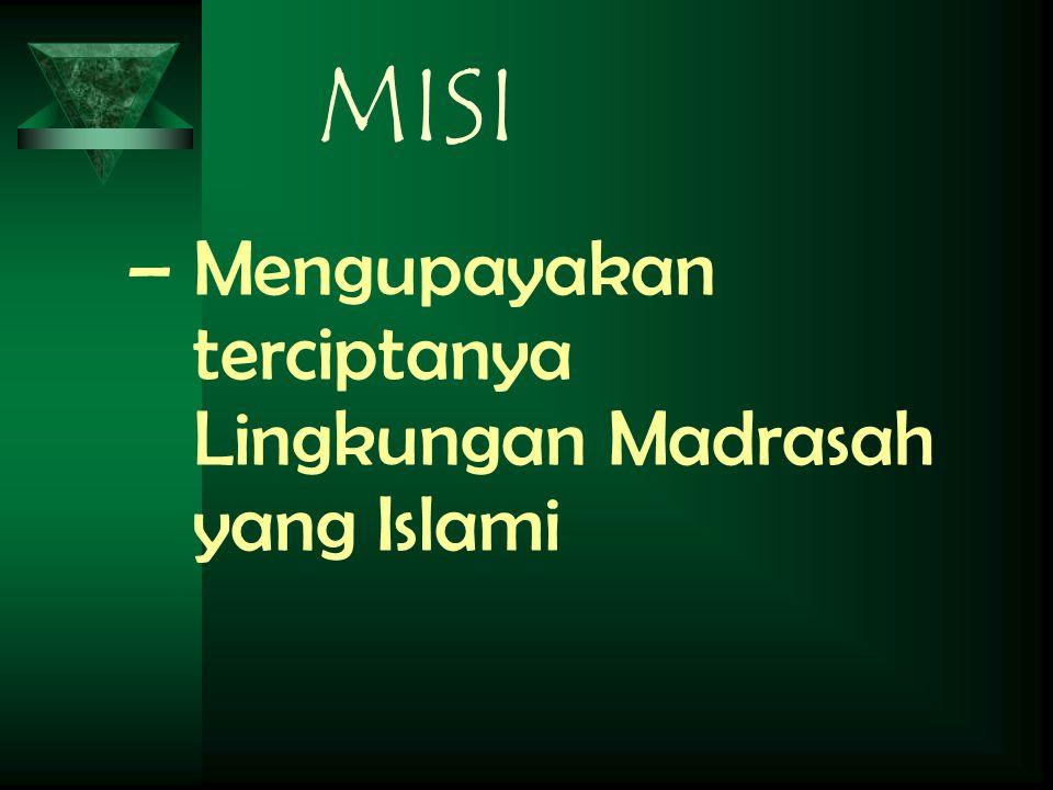 visi  Islami, berilmu,terampil dan berkualitas