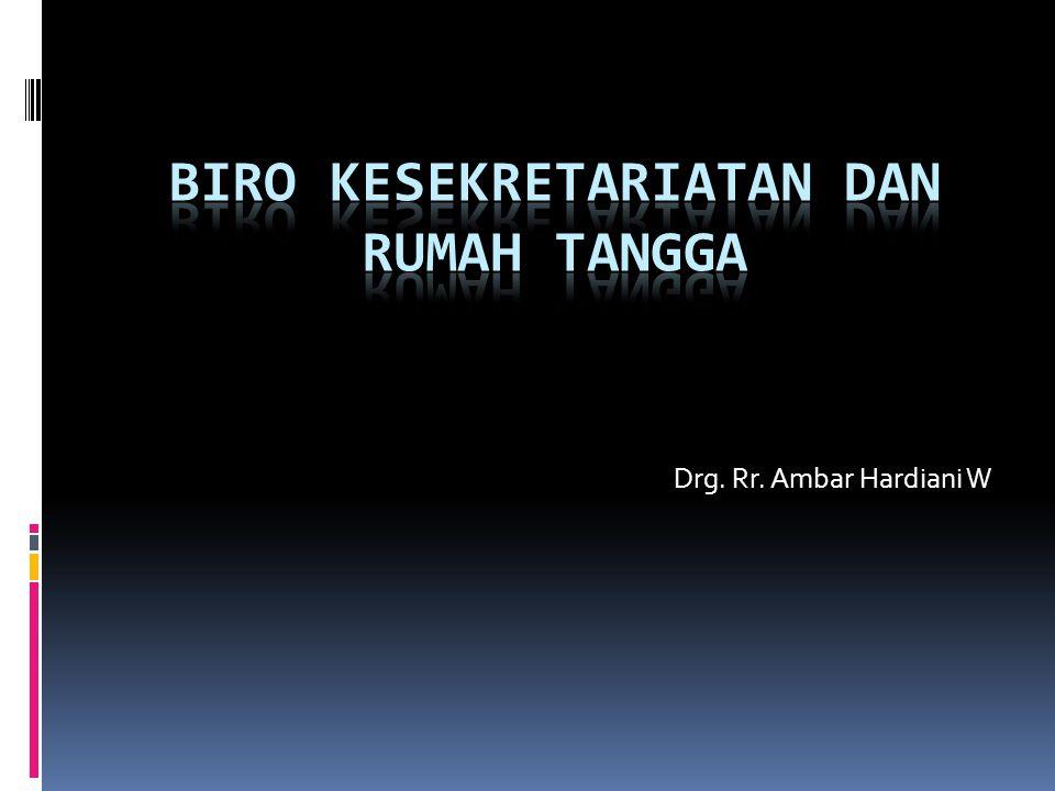 Drg. Rr. Ambar Hardiani W