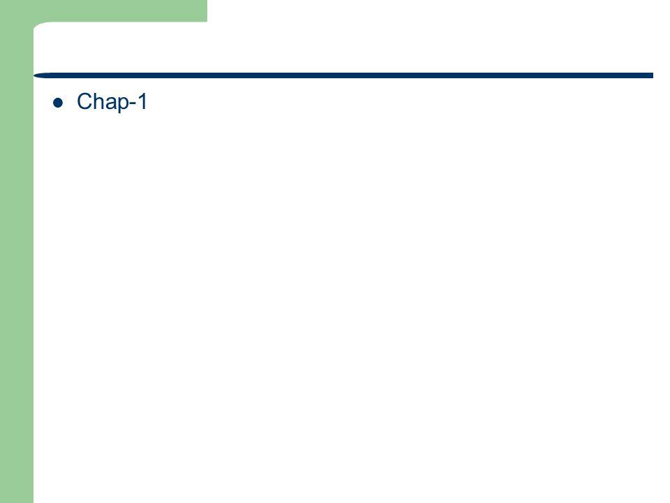 Chap-1