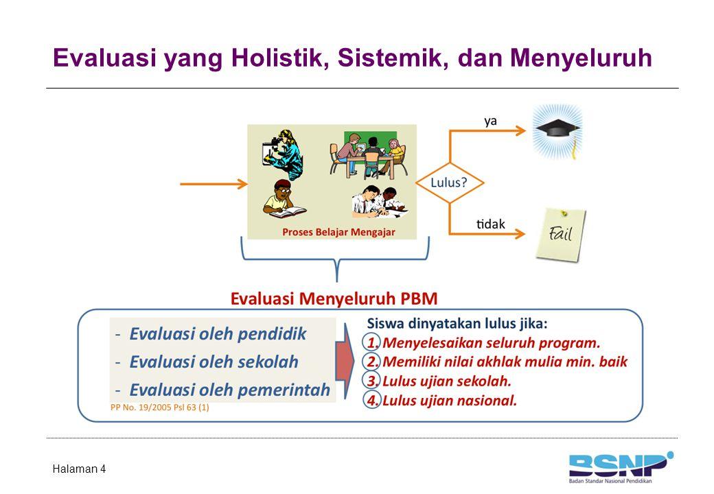 Evaluasi yang Holistik, Sistemik, dan Menyeluruh Halaman 4
