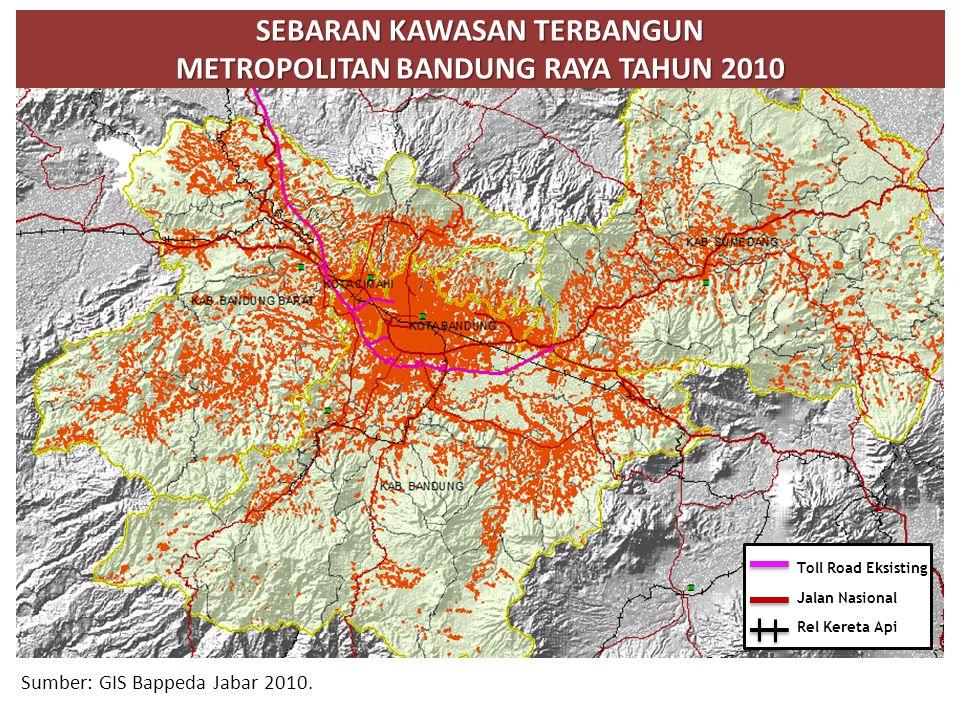Sumber: GIS Bappeda Jabar 2010.