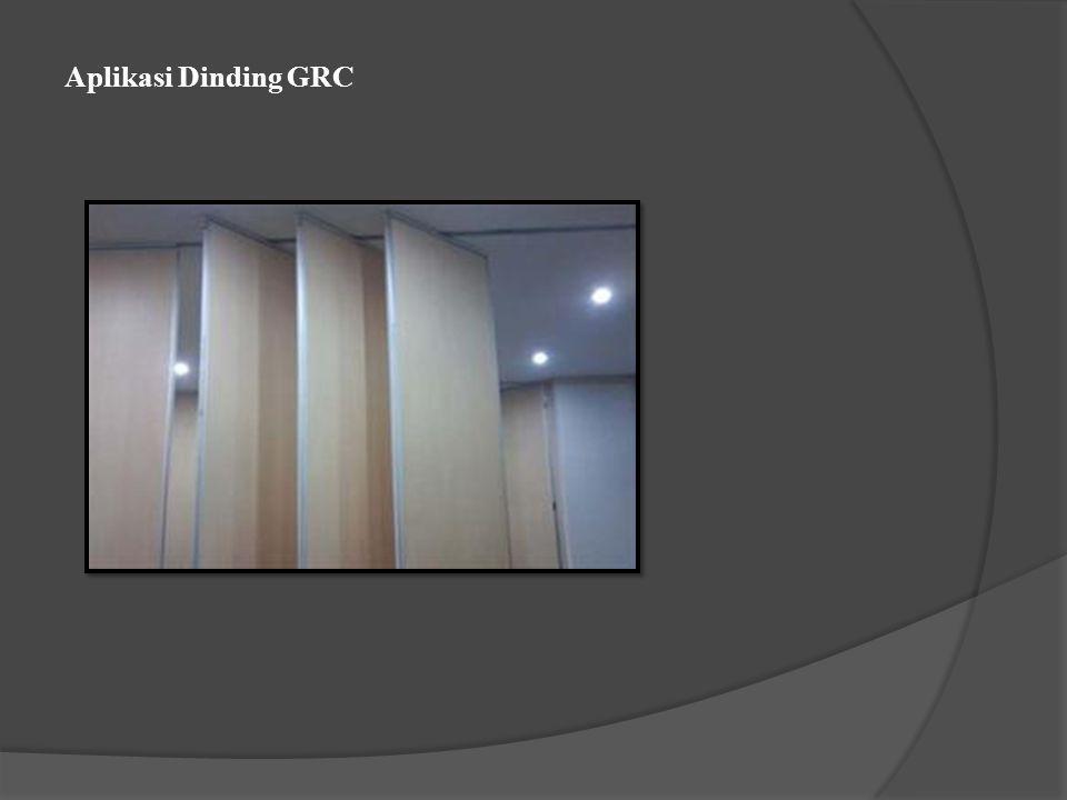 Aplikasi Dinding GRC