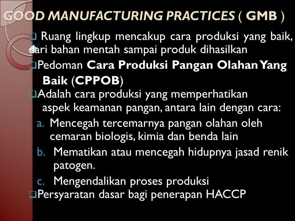 18 Aspek/Bagian CPPOB 14.Pengangkutan  Pengangkutan produk akhir membutuhkan pengawasan untuk menghindari kesalahan yang mengakibatkan kerusakan dan penurunan mutu.