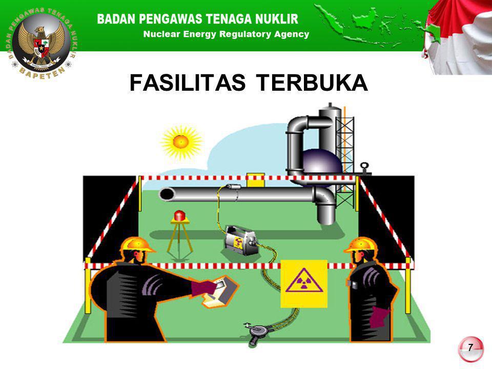 18 KEAMANAN vs TERORISME Pencurian untuk tujuan terorisme Bahan campuran dalam bom kotor (dirty bomb).