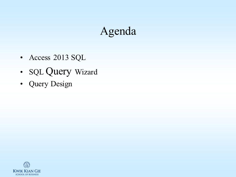 Pengantar TI (MKK103S) Minggu 11 Page 1 MINGGU 11 Pengantar TI (MKK103S) Pokok Bahasan: –Query Tujuan Instruksional Khusus: –Siswa memahami konsep query SQL –Siswa dapat membuat query sql di Ms Access 2013