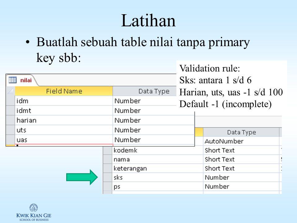 Combining query results: UNION UNION digunakan digunakan untuk mengabungkan 2 buah query atau lebih, yang memiliki jumlah dan tipe data yang query sam
