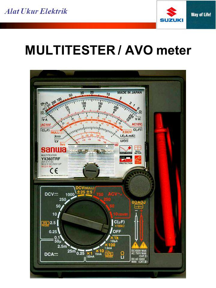 MULTITESTER / AVO meter Alat Ukur Elektrik