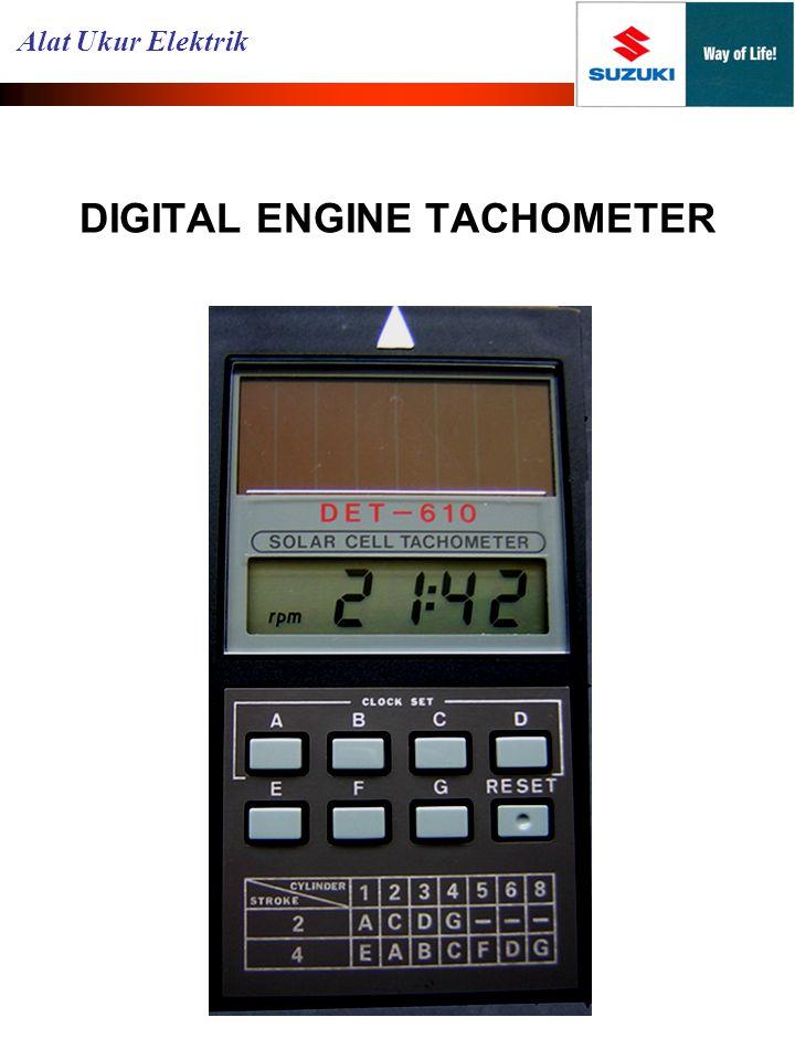DIGITAL ENGINE TACHOMETER Alat Ukur Elektrik