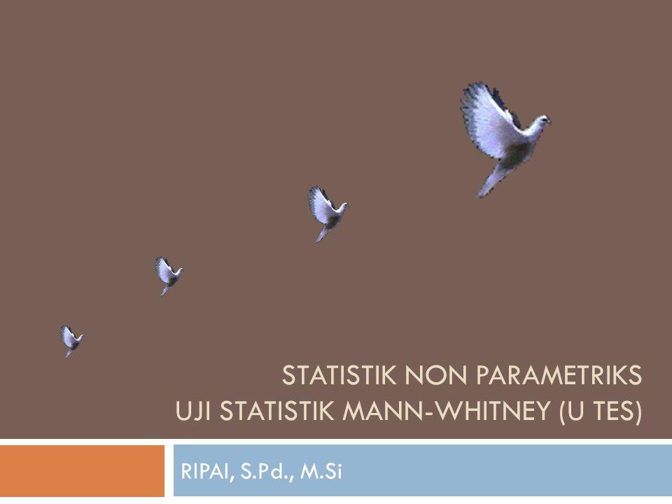 Desain analisis statistik inferensial untuk ujian beda rataan Populasi Kls A, B, C dst Populasi Kls A, B, C dst Sampel 1 Sampel 2 Resfentatif Perlakuan 1 Perlakuan 2 Tes Akhir Valid dan Reliabel Uji, Normalitas Uji Normalitas Normal Tidak Normal Uji Homogenitas Homogen Tidak Homogen Uji Stedent I Uji Stedent II Data Kemampuan Awal Uji Fisher Uji- Chi SquerA=B=C = dstA≠B ≠ C ≠ dst E(Kelas) = PopulasiE(Kelas)≠Populasi Proporsional Uji U Data Kemapuan Akhir Generalisasi Uji Prasyarat Uji Respentatif sampel Tindakan & Uji Hipotesis Penelitian Uji Z