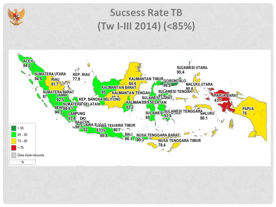 API Kasus Malaria di Indonesia Tahun 2013 (>2%)