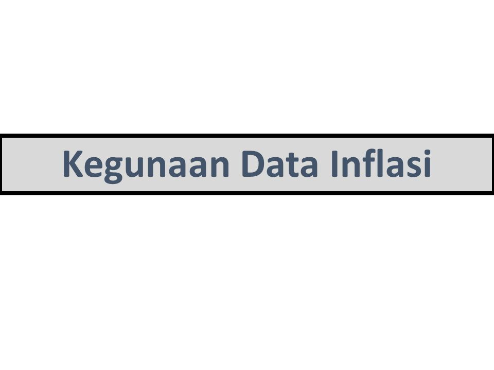  Indeksasi upah dan tunjangan gaji pegawai (Wage- Indexation).