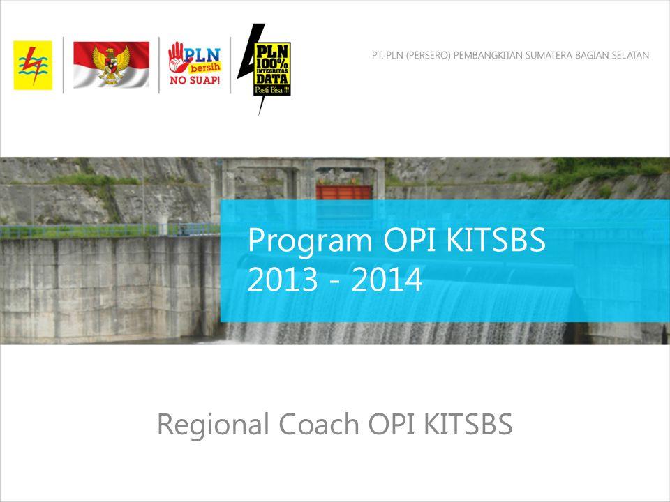 Program OPI KITSBS 2013 - 2014 Regional Coach OPI KITSBS