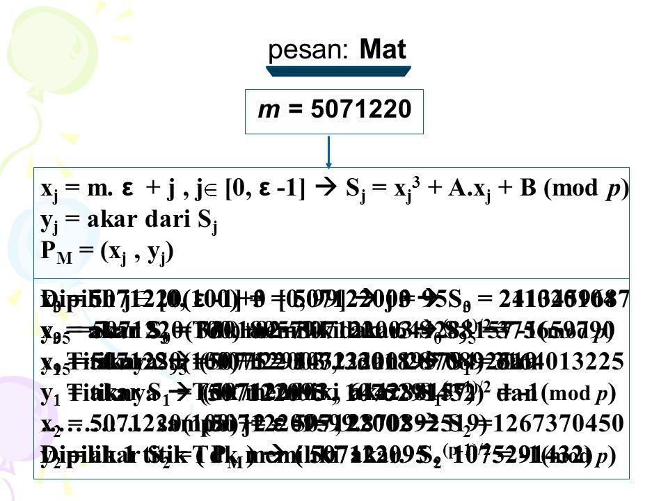 m = 5071220 x j = m.