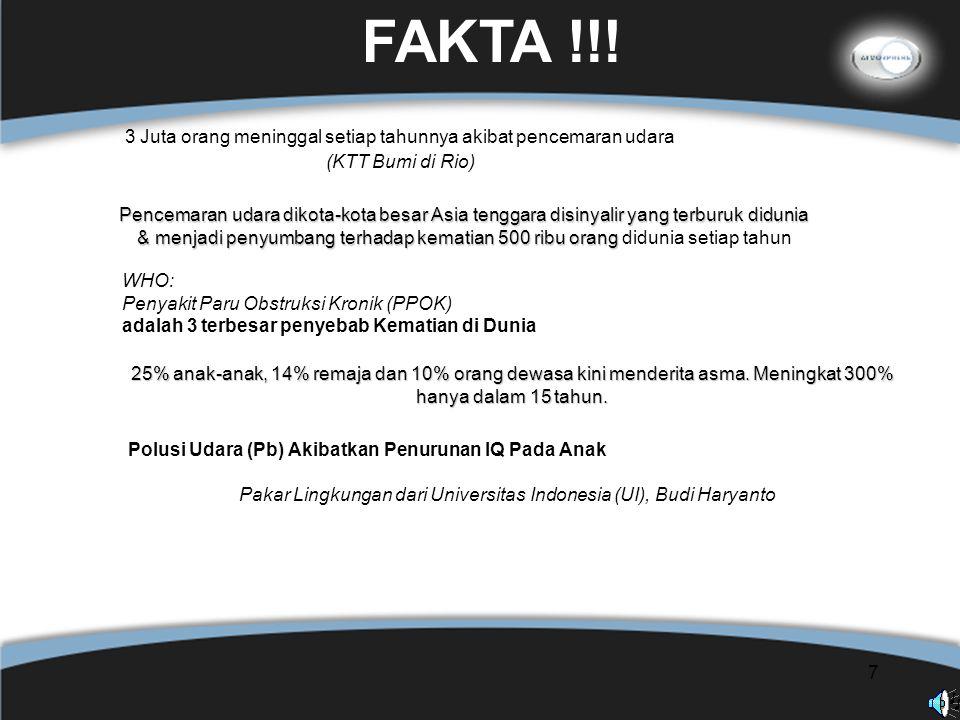8 FLU BURUNG Indonesia — 99 kasus dengan 79 kematian.
