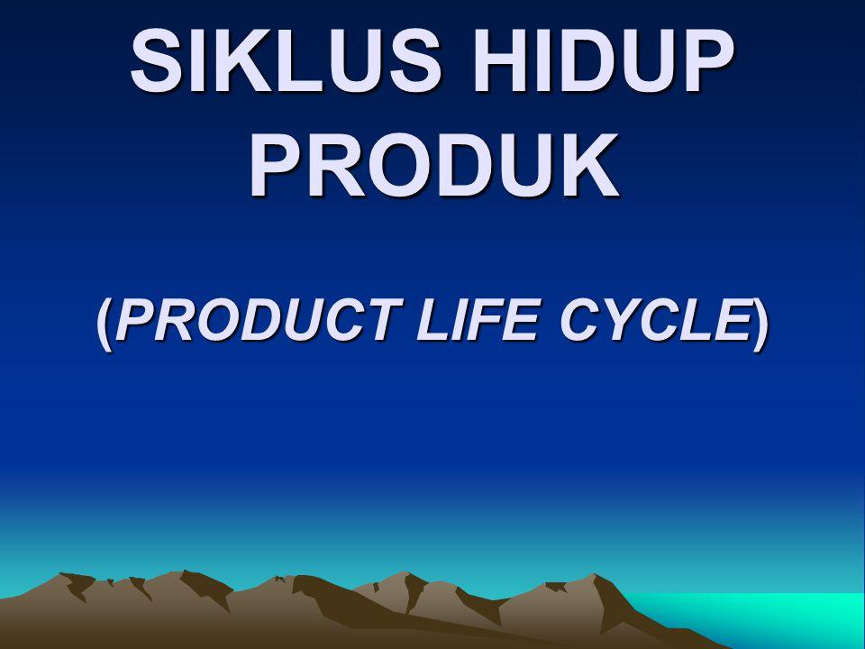 Siklus hidup produk (product life cycle – PLC) adalah perjalanan penjualan dari suatu produk dalam masa hidupnya.