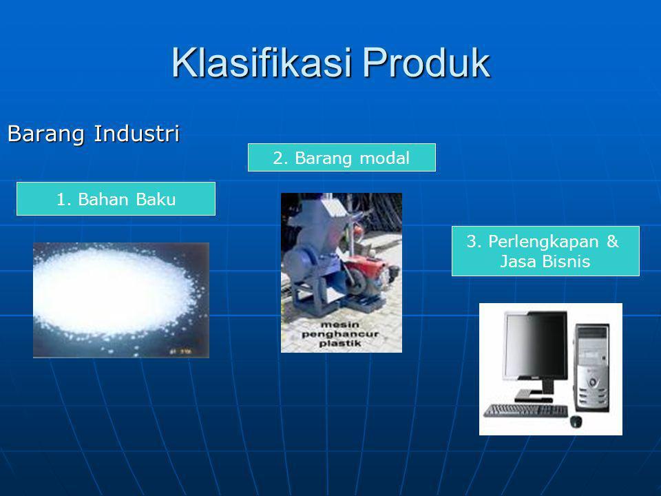 Klasifikasi Produk Barang Konsumen 1 Barang conviniece staples emergencyimpulse 2.